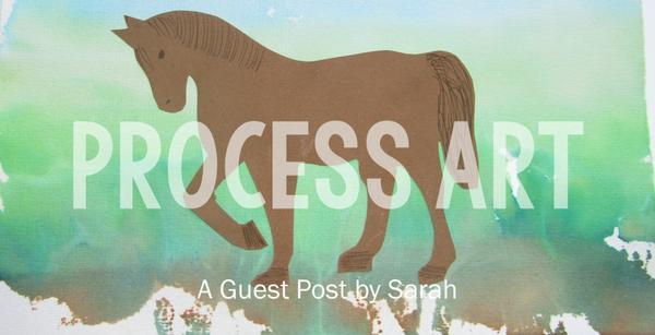 Guest post - Process art ideas
