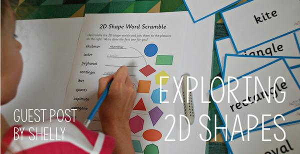 Guest Post - Exploring 2D Shapes
