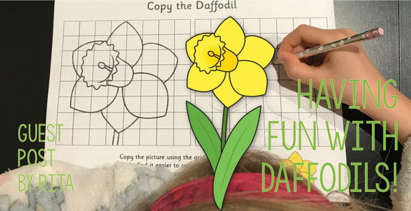 Guest post - Having fun with daffodils