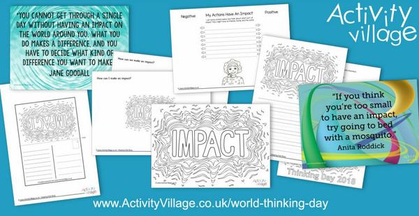 New activities for World Thinking Day 2018 and its theme, Impact