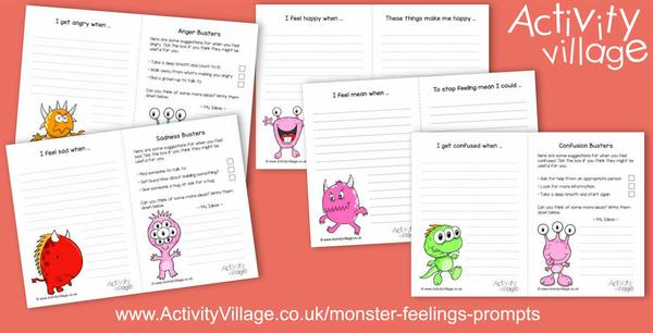 Have you seen our monster feelings prompts?