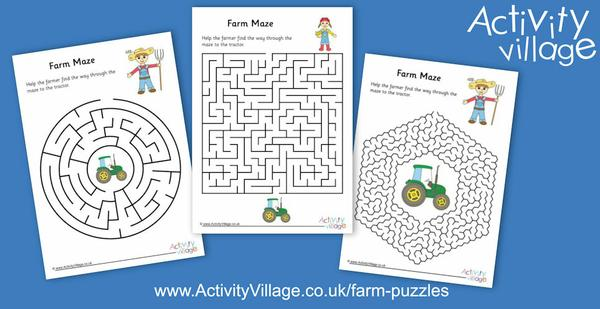 Topping up our farm puzzles