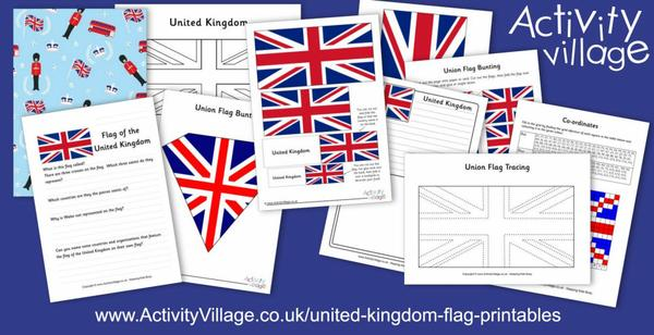 Go crazy with a flag, or two, or three...