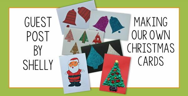 Guest Post - Making our own Christmas cards