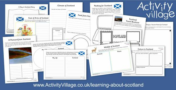Learn about Scotland with our fun facts and these new activities