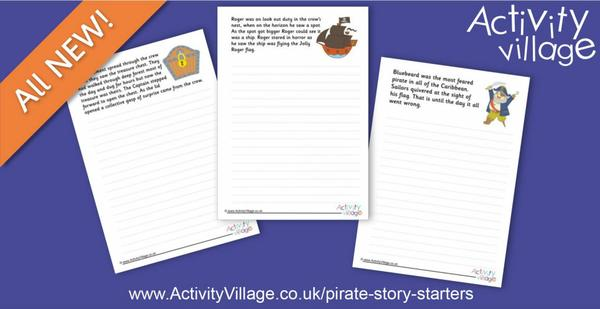 Spark creative writing with our new pirate story starters