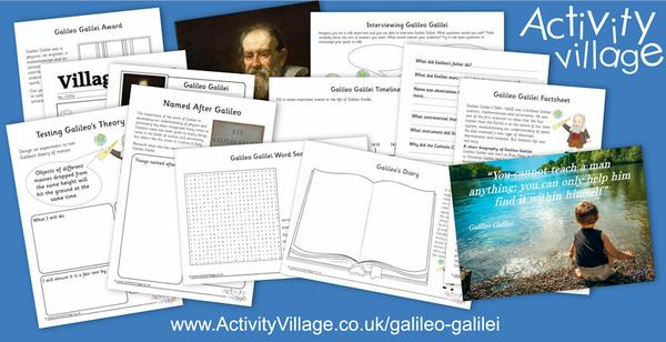 Our famous person of the week is Galileo Galilei