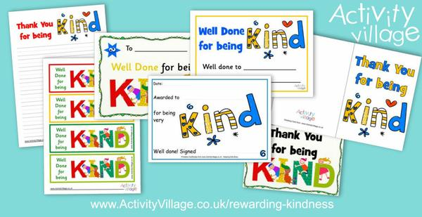 Making a difference by rewarding kindness