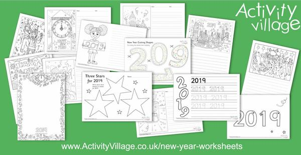 New worksheets for the New Year