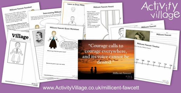 Learn about Millicent Fawcett - an extraordinary woman