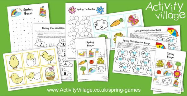 Have some fun with these new spring games