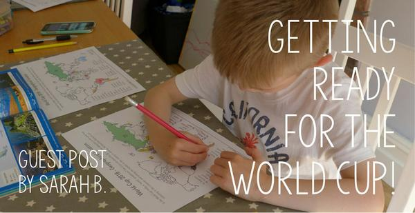 Guest Post - Getting Ready for the World Cup