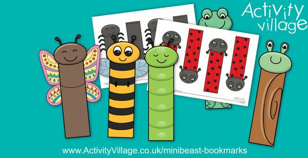 Have you seen our gorgeous minibeast bookmarks?