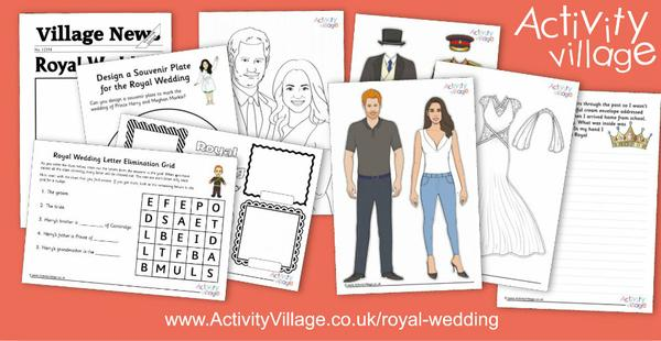 Have you seen our Royal Wedding activities?
