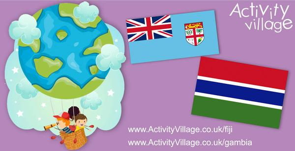 Our trip around the Commonwealth takes us to Fiji and Gambia. Lots of fun new resources!