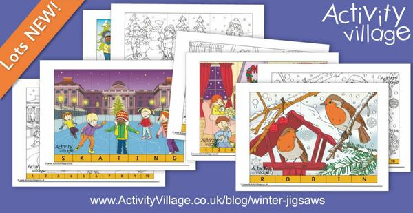 New winter jigsaws adapt for all ages
