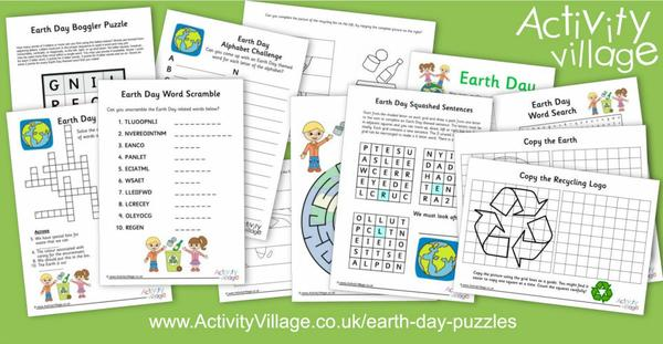 Our fun new Earth Day puzzles collection