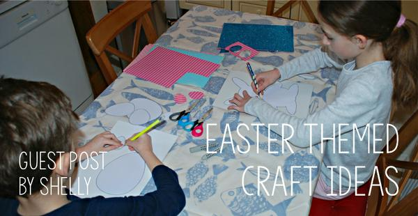 Shelly shares some fabulous ideas for Easter themed crafts using our templates and colouring pages...