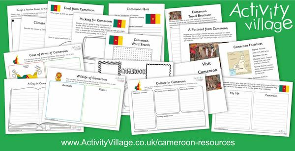 Learning about Cameroon