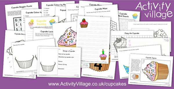 Explore these fun new cupcake activities