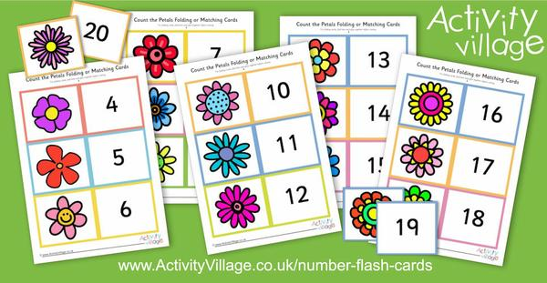 Our latest number flash cards