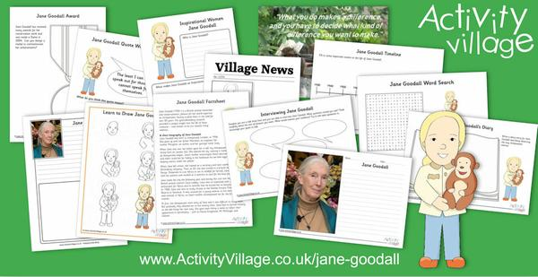 This week we've been learning about Jane Goodall