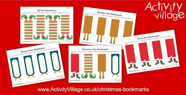 Fun new Christmas bookmarks