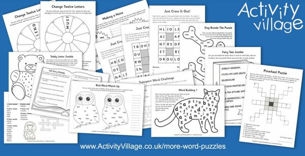 Have you seen this assortment of word puzzles?