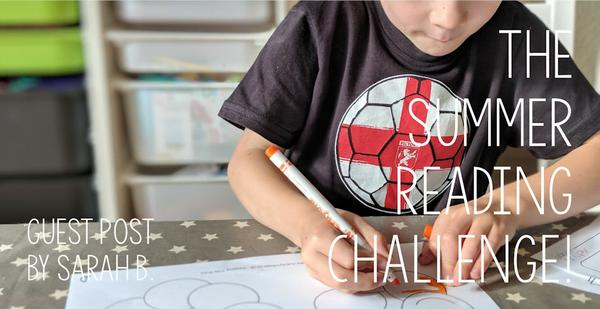 Guest Post - The Summer Reading Challenge