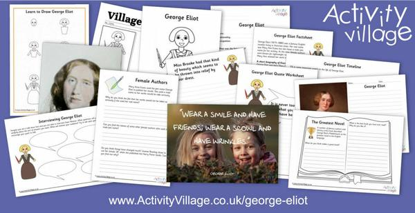 Famous person of the week - George Eliot