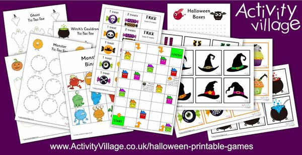 Fun new Halloween games!