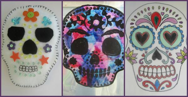 3 new Day of the Dead crafts