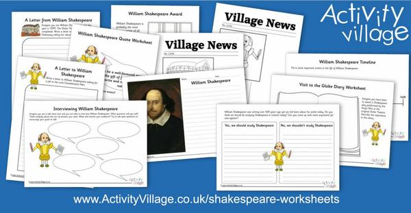 Adding to our collection of Shakespeare worksheets
