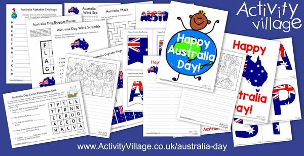 We've added all sorts of new Australia Day resources!