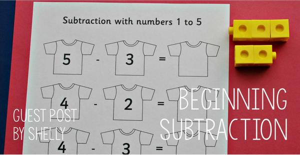 Guest post - Beginning subtraction