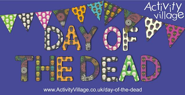 New bunting and display letters for Day of the Dead