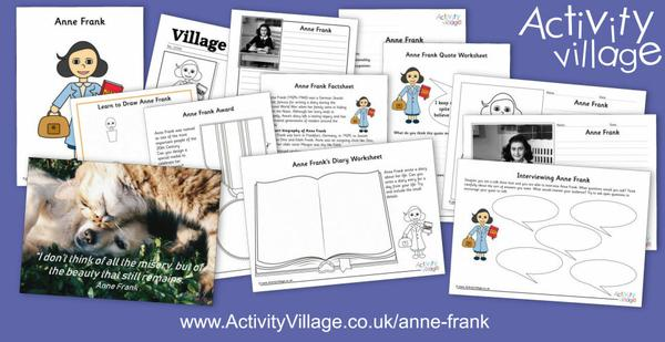 We've been learning about Anne Frank this week