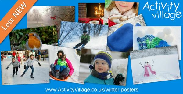 New winter posters to brighten up displays and provide talking points