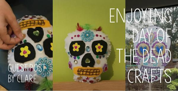 Guest Post - Enjoying Day of the Dead crafts