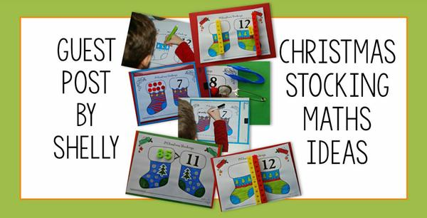 Guest Post - Christmas stocking maths ideas - by Shelly