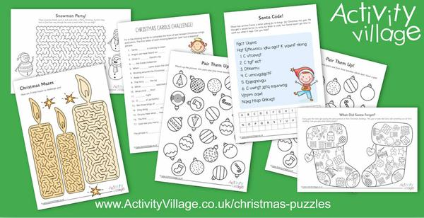 More Christmas puzzles