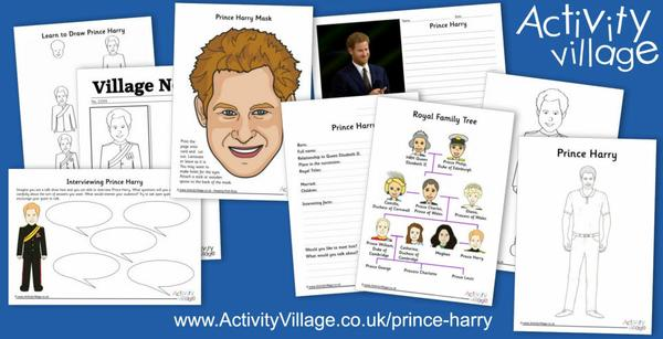Introducing the groom, Prince Harry