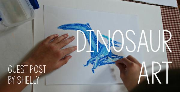 Guest Post - Dinosaur Art