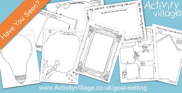 Have you seen our goal setting printables?