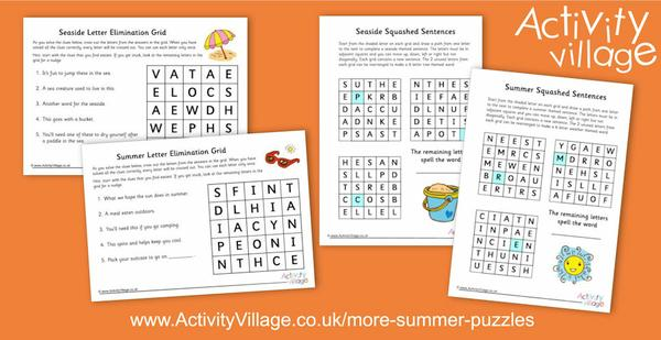 Topping up our summer puzzles