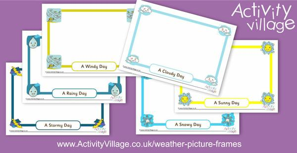 New weather picture frames
