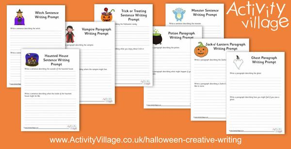 More Halloween creative writing prompts