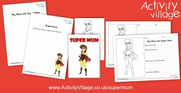 New Supermum activities for Mother's Day
