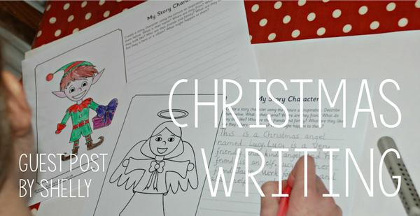 Christmas story writing inspiration from Shelly and the kids