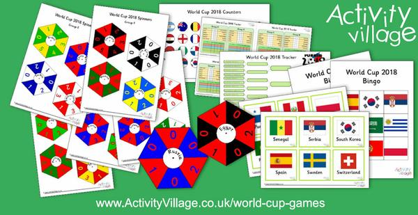 Fun new World Cup Games!